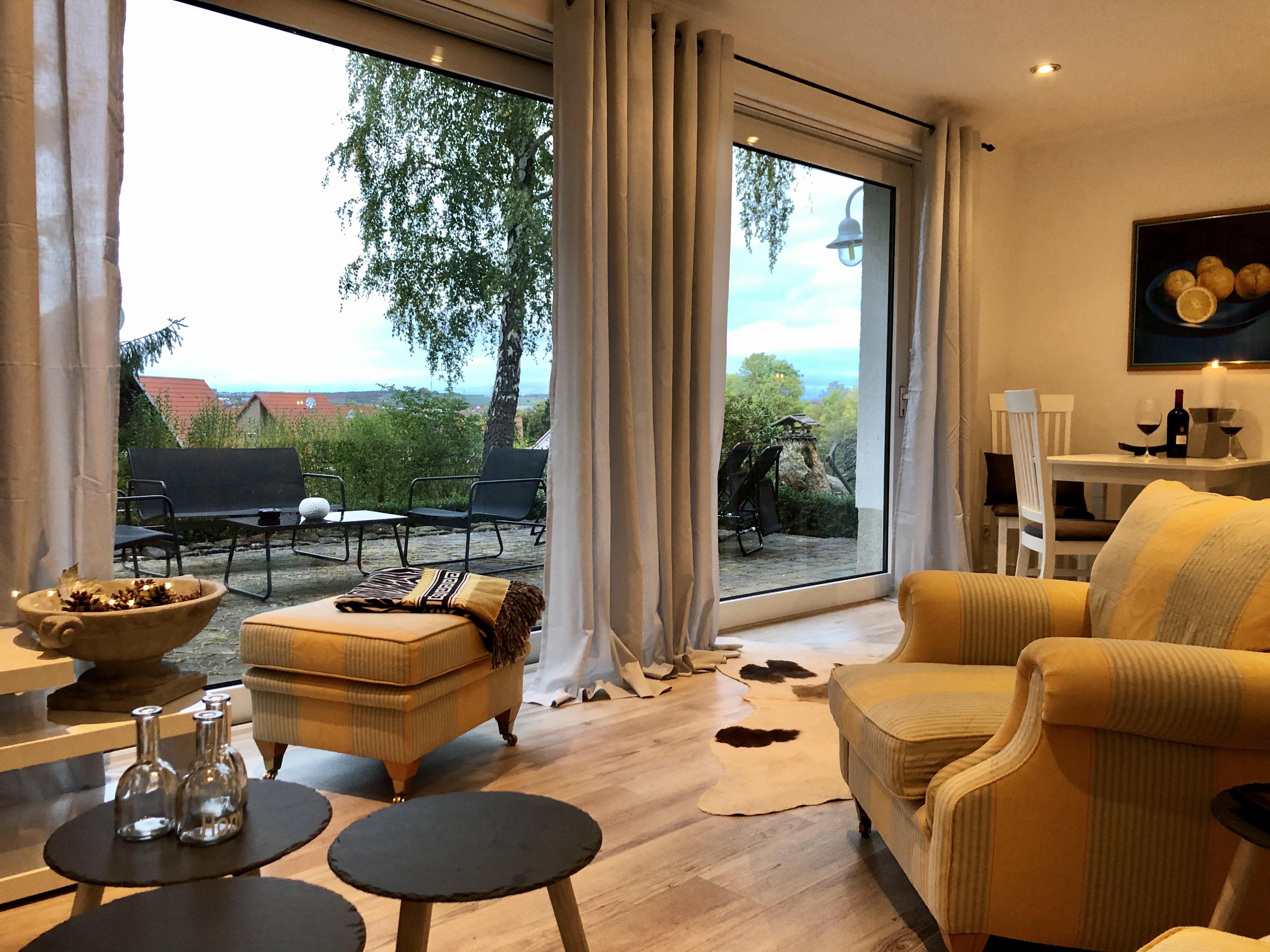 Ferienhaus am Holzweg Wohnzimmer